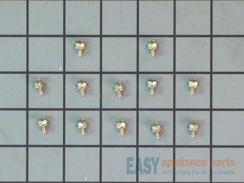 Screws - Package of 12 – Part Number: WB1X500D